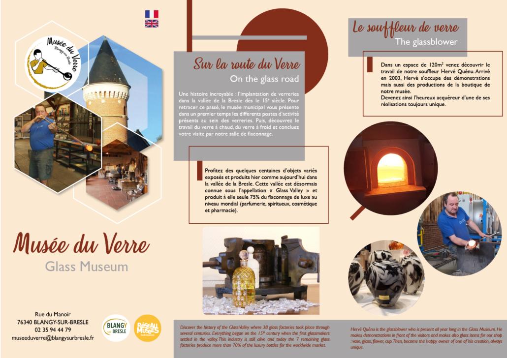Musée du Verre Dépliant partie 1